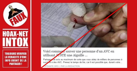 ATTENTION AUX FAUSSES INFORMATIONS SUR AVC