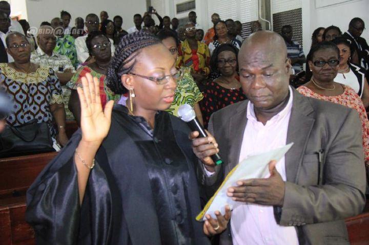Le docteur Petula Yao-Oyelade, a obtenu la mention « Très honorable »